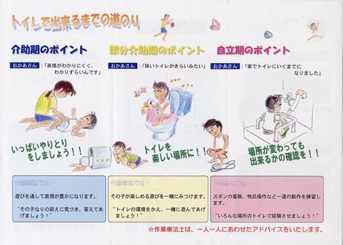作業療法士の遊びのなかからトイレを覚える~ダウン症児のリハビリテーション(2)~