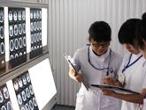鹿児島大学医学部保健学科作業療法学専攻実習風景