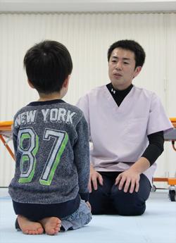 中村さん個別訓練風景3