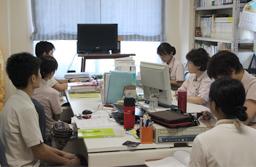 作業療法室ミーティング